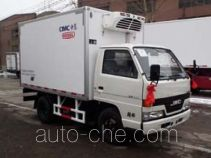 中集牌ZJV5040XLCSD型冷藏车
