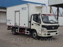 中集牌ZJV5046XLCSD5型冷藏车