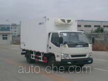 中集牌ZJV5047XLCSD型冷藏车