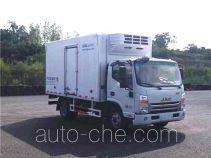中集牌ZJV5047XLCSD5型冷藏车