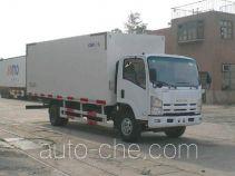 CIMC ZJV5090XBWSD insulated box van truck