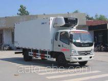 中集牌ZJV5123XLCSD型冷藏车