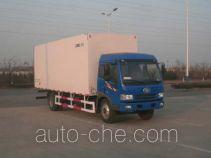 CIMC ZJV5161XBWSD insulated box van truck