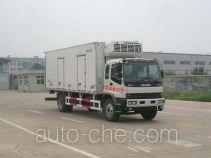 中集牌ZJV5162XLCSD型冷藏车