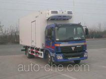 中集牌ZJV5163XLCSD型冷藏车