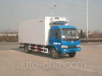中集牌ZJV5168XLCSD型冷藏车