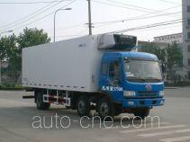 中集牌ZJV5180XLCSD型冷藏车