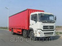 CIMC ZJV5200XXYAA side curtain van truck