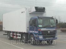 中集牌ZJV5240XLCSD型冷藏车