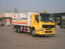 CIMC ZJV5250XZHSD explosive mixture and charges transport truck
