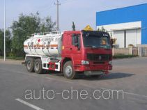 CIMC ZJV5256GHZSD explosive mixture and charges transport truck