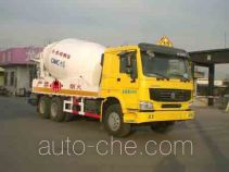 CIMC ZJV5257THZSD explosive mixture and charges transport truck