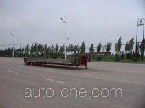 中集牌ZJV9150TDPYK型低平板运输半挂车