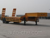 中集牌ZJV9240TD型低平板半挂车