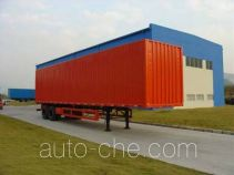 CIMC ZJV9274XXY box body van trailer