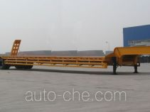 中集牌ZJV9280TD型低平板半挂车