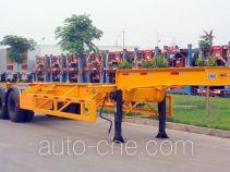 中集牌ZJV9296TJZ型集装箱半挂牵引车