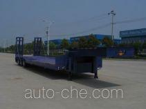 中集牌ZJV9301TDPRJ型低平板半挂车