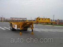 中集牌ZJV9302TJZTH型集装箱半挂牵引车