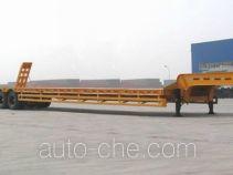 中集牌ZJV9346TD型低平板半挂车