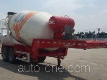 中集牌ZJV9350GJBJM型混凝土搅拌运输半挂车
