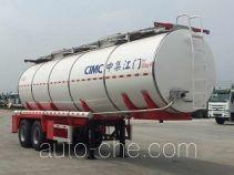 中集牌ZJV9350GYSJM型液态食品运输半挂车