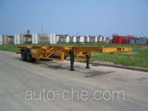 中集牌ZJV9350TJZ型集装箱半挂牵引车