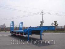中集牌ZJV9351TDPTHA型低平板半挂车