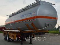 CIMC ZJV9353GRYSZ flammable liquid tank trailer