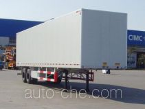 CIMC ZJV9357XXYQD box body van trailer