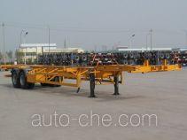 中集牌ZJV9357TJZ型集装箱半挂牵引车
