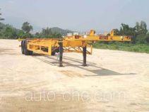 中集牌ZJV9359TJZ00型集装箱半挂牵引车