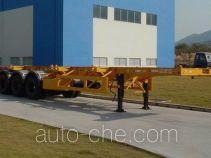 中集牌ZJV9366TJZ型集装箱运输半挂车