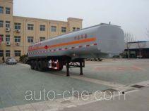 CIMC ZJV9380GHYDY chemical liquid tank trailer