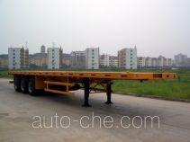 中集牌ZJV9380TJZP型集装箱半挂牵引车