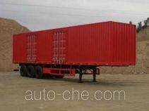 CIMC ZJV9381XXY box body van trailer
