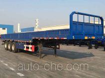 中集牌ZJV9402QD型栏板式运输半挂车