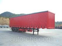 CIMC curtainsider trailer