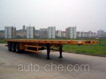 中集牌ZJV9386TJZP型集装箱半挂牵引车