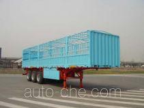 中集牌ZJV9390CLXTH型仓栅式运输半挂车