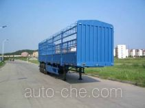 中集牌ZJV9400CLX型仓栅式运输半挂车