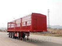 中集牌ZJV9400CLXBYA型仓栅式运输半挂车