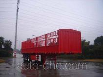 中集牌ZJV9400CLXTH型仓栅式运输半挂车