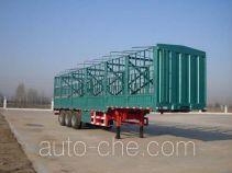中集牌ZJV9400CLXYDY型仓栅式运输半挂车