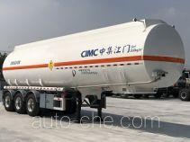 中集牌ZJV9400GYWJM型氧化性物品罐式运输半挂车