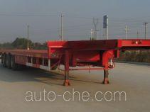 中集牌ZJV9400TD型低平板半挂车