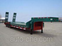 中集牌ZJV9400TDPDY型低平板运输半挂车