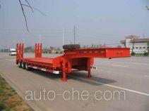 中集牌ZJV9400TDPYK型低平板运输半挂车