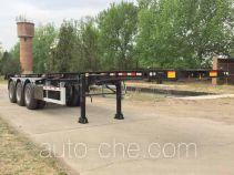 CIMC ZJV9400TWYQDA dangerous goods tank container skeletal trailer