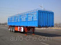 中集牌ZJV9401CCYYK01型仓栅式运输半挂车